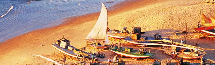 Jangadas, Praia do Mucuripe - Fortaleza