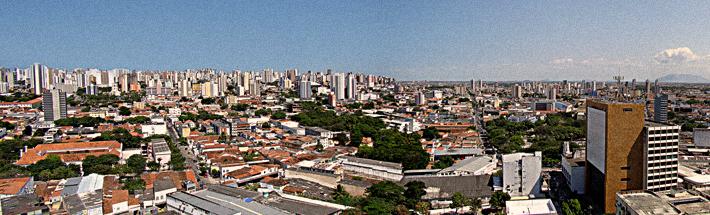 Vista panorâmica do Centro de Fortaleza