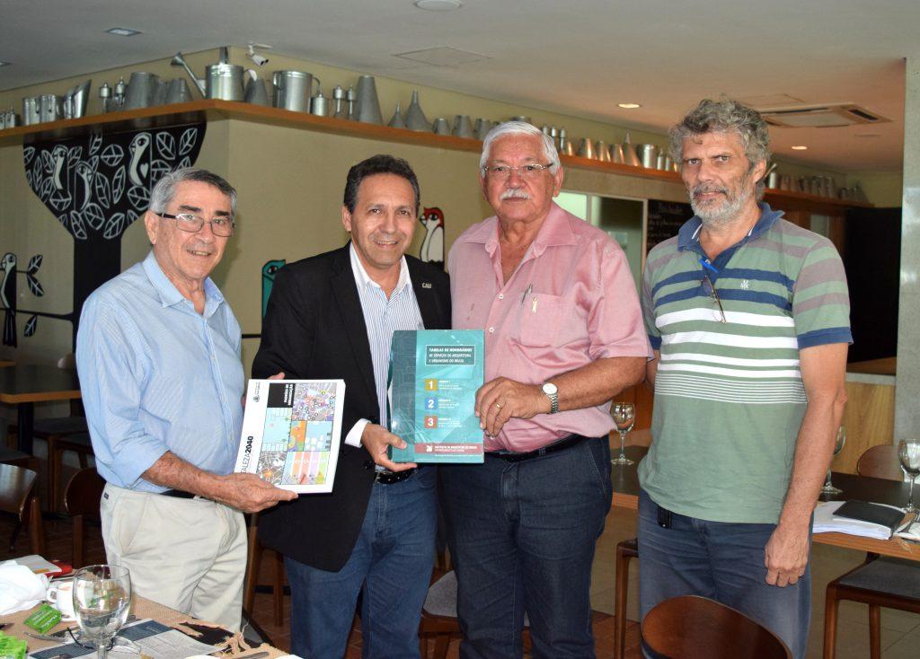 Prefeito Raimundo Macêdo recebe as Tabelas de Honorários