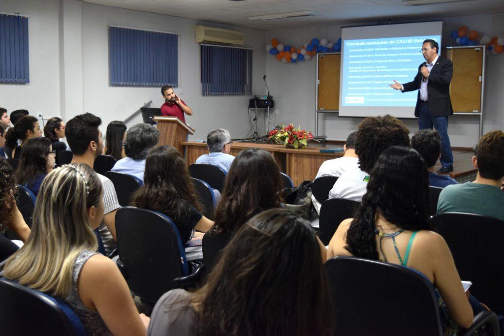 Odilo Almeida, presidente do CAU/CE, fala sobre o exercício profissional