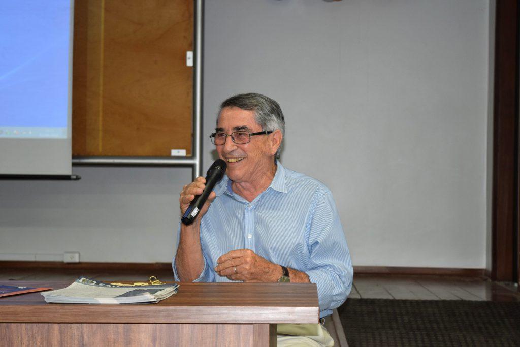 Delberg Ponce de Leon, vice-presidente do CAU/CE, conta sua experiência profissional