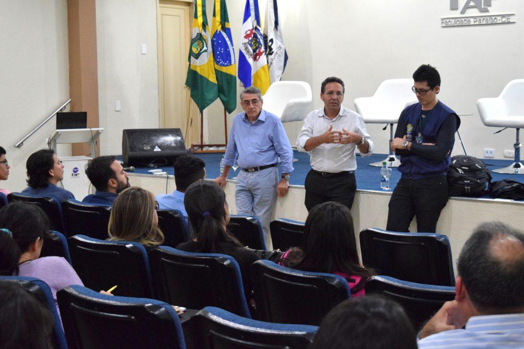 Representantes do CAU/CE reunidos com arquitetos da região do Cariri