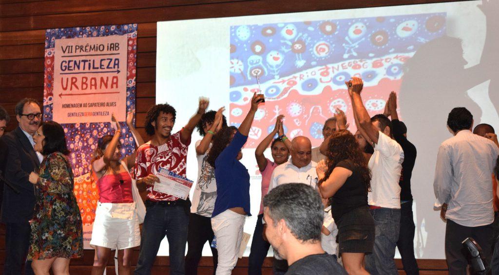 Comemoração dos vencedores