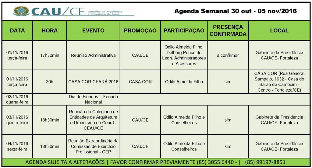 agenda-30-out-05-nov