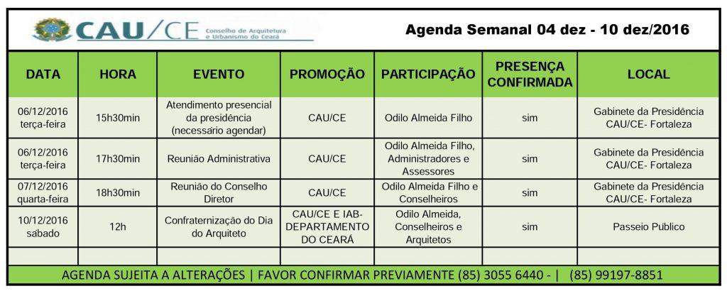 agenda-semanal